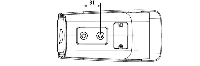 大华400万网络摄像机DH-IPC-HFW4431(6)M(-AS)-I1I2尺寸图
