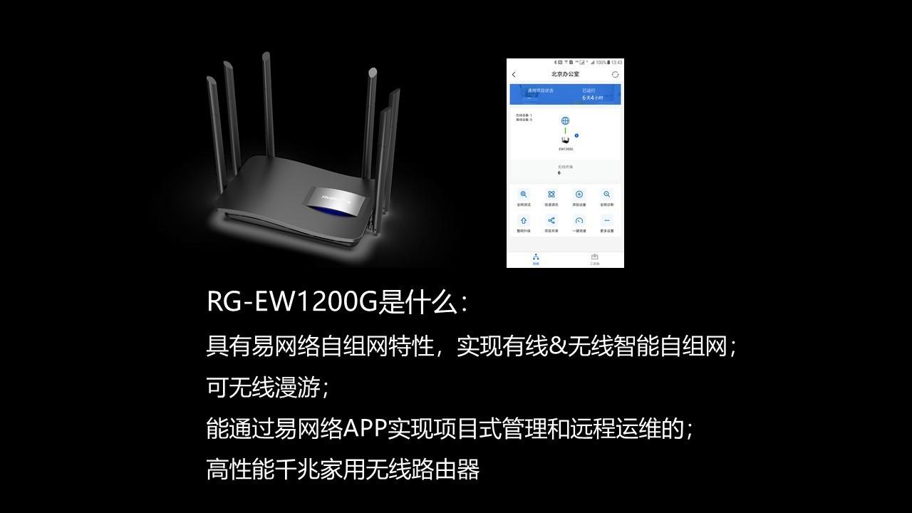 RG-EW1200G家用无线路由器16