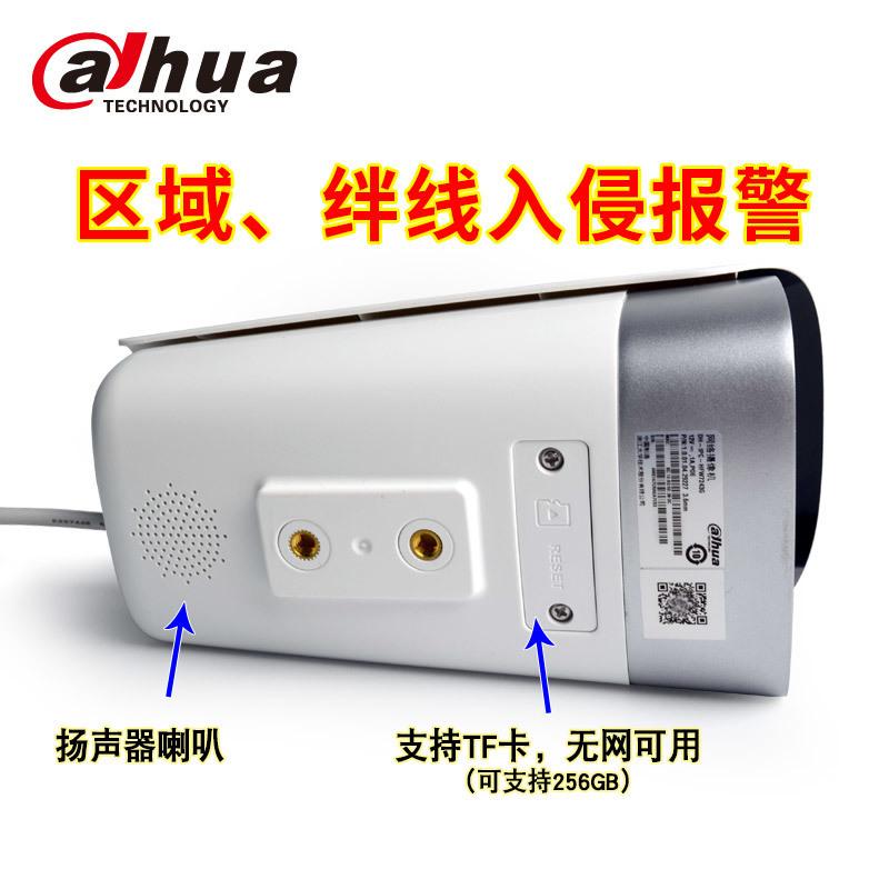 大华声光警戒红外高清摄像机DH-IPC-HFW7243G警戒枪细节2