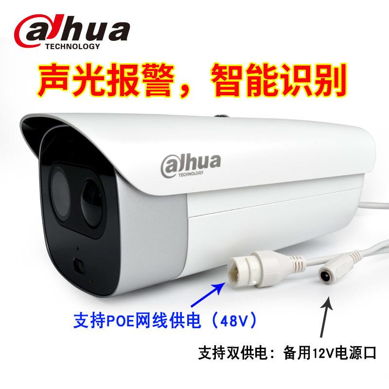 大华声光警戒红外高清摄像机DH-IPC-HFW7243G警戒枪细节3